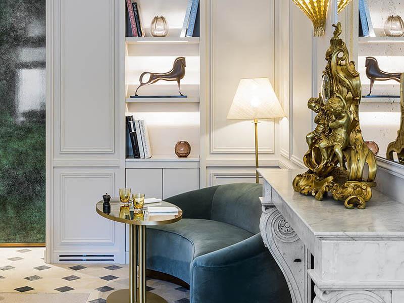 Restaurant decoration, Grand Powers, Paris 8th
