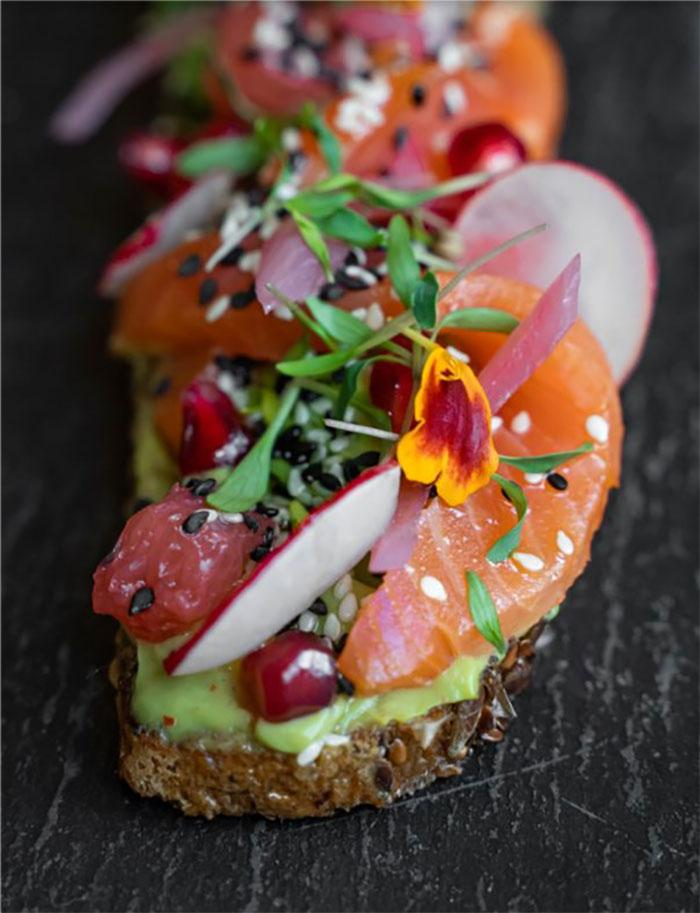Healthy food, smorebrod, Grand Powers, Restaurant Paris 8th