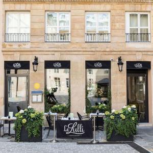 Le Lulli, restaurant, terrasse, Grand Hôtel du Palais Royal, Paris 1er