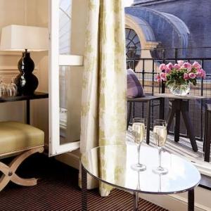 Chambre Supérieure, vue terrasse, Grand Hôtel du Palais Royal, Paris 1er