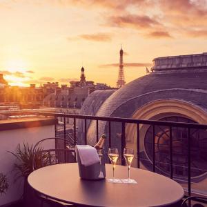 Suite panoramique, terrasse panoramique, Grand Hôtel du Palais Royal, Paris 1er