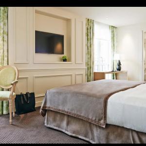 Chambre Deluxe, vue d'ensemble, Grand Hôtel du Palais Royal, Paris 1er