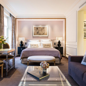 Junior suite, vue d'ensemble, Grand Hôtel du Palais Royal, Paris 1er