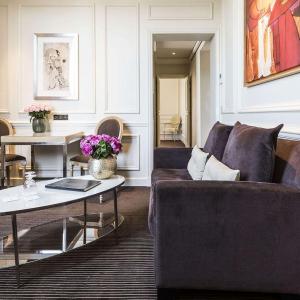 Junior suite prestige, vue d'ensemble, Grand Hôtel du Palais Royal, Paris 1er