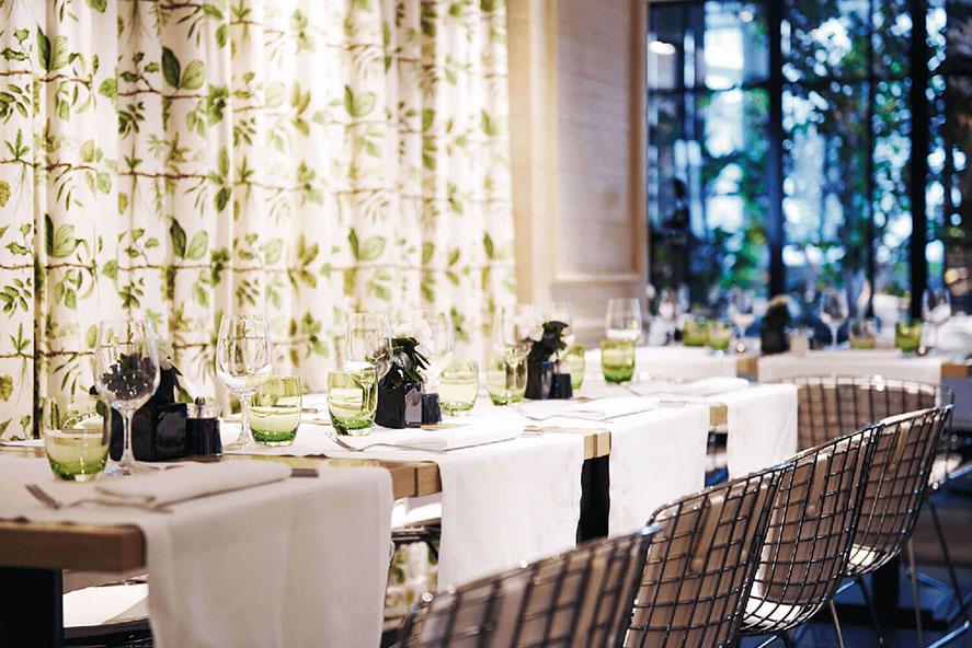 Le Café 52 restaurant, event, Grand Hôtel du Palais Royal, Paris 1st