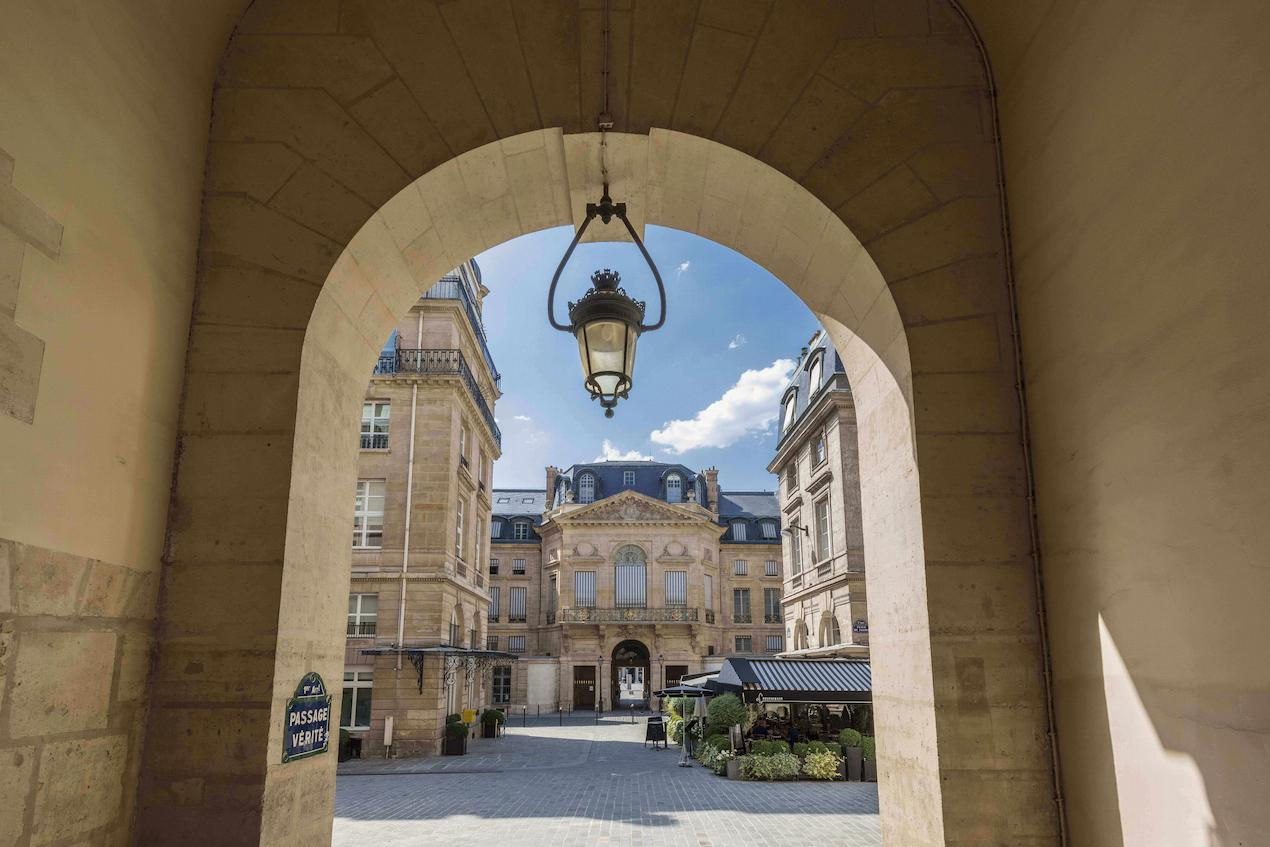 Front, hotel, Grand Hôtel du Palais Royal, Paris 1st