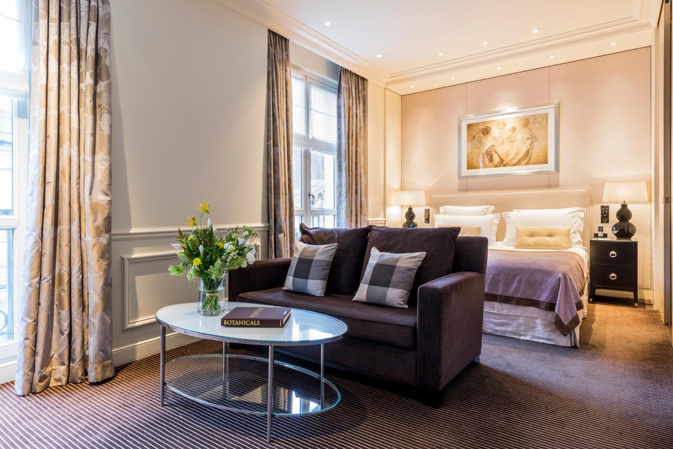 Junior suite , overview, Grand Hôtel du Palais Royal, Paris 1st