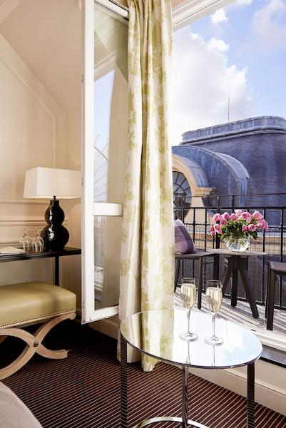 Superior room, terrace view, Grand Hôtel du Palais Royal, Paris 1st