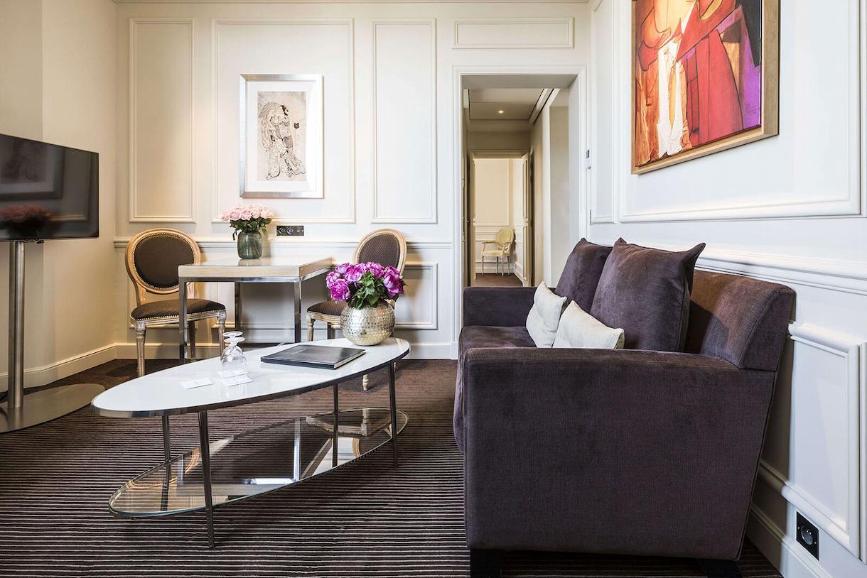 Junior suite prestige, overview, living room, Grand Hôtel du Palais Royal, Paris 1st