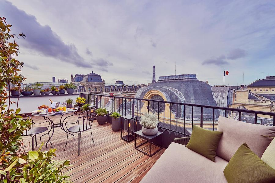 Panoramic Suite, Eiffel Tower view, Grand Hôtel du Palais Royal, Paris 1st