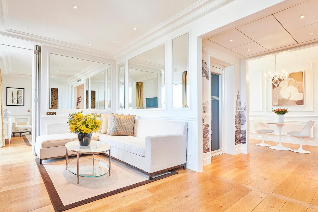 Panoramic Suite, overview, living room, Grand Hôtel du Palais Royal, Paris 1st